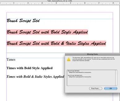 Convertir les polices QXP QuarkXPress en InDesign dans un flux de production Adobe InDesign CS6 via Markzware Q2ID