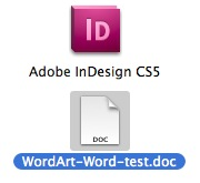 Obtenez un document Word avec les images incorporées dans InDesign
