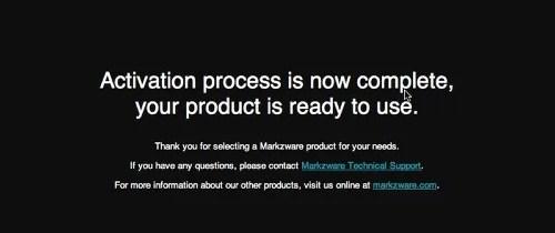 Markzware FlightCheck 7 Mac Activation Complete