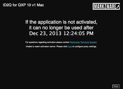 Markzware ID2Q QuarkXPress 9 10 Mac Non-Activated Product