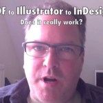 PDF to Illustrator to InDesign
