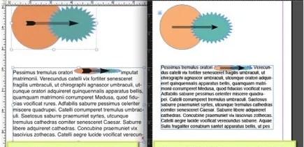 Markzware Q2ID para InDesign CC objetos agrupados