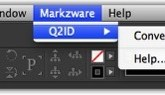 Markzware Q2ID pour InDesign CC Menu Items
