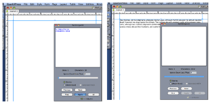 Scavenge Text with Markzware MarkzTools, QuarkXPress XTension