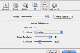 Markzware FlightCheck Print Preferences