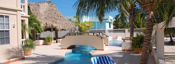 Iguana Reef Hotel in Caye Caulker, Belize: Markzware Adventures