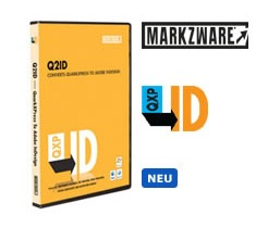 Markzware Q2ID v5 int. Mac CS4 / CS5, German