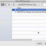 InDesignのCC Macの勝利のためのMarkzware PDF2DTP PDFファイルを探します