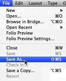 Guarde el archivo InDesign CC 2018 después de convertir PDF a Adobe INDD Creative Cloud 2018 a través de Markzware PDF2DTP