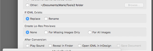 Markzware MarkzTools2 Converts your file