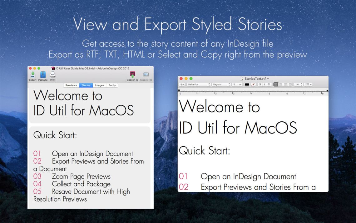 Export InDesign File Previews as PDF, JPG, or PNG