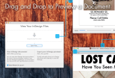 Markzware ID Util for macOS Drag & Drop to Preview an Adobe InDesign Document