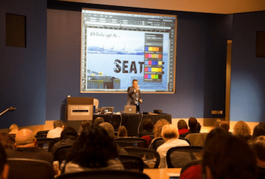 InDesign Conference CreativePro Week speaker Russell Viers on InDesign styles, production, images, text, digital