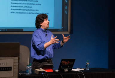 PePcon CreativePro Week 2017 speaker David Blatner on print, epublishing, designers, Adobe InDesign, Photoshop, ebooks, interactive