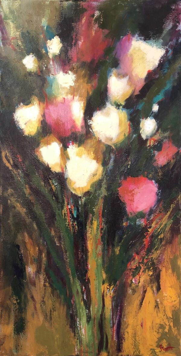 Spring Composition II -24 x 48 -Acrylic