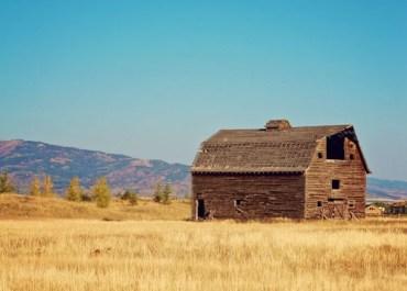 Old Barn in Victor, Idaho on MarlaMeridith.com © MarlaMeridith.com
