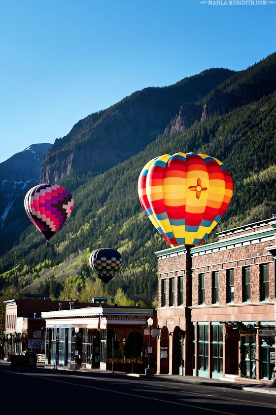 Telluride, CO Hot Air Balloon Festival | MarlaMeridith.com