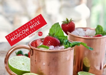 Recipe Video: Strawberry Basil Moscow Mules