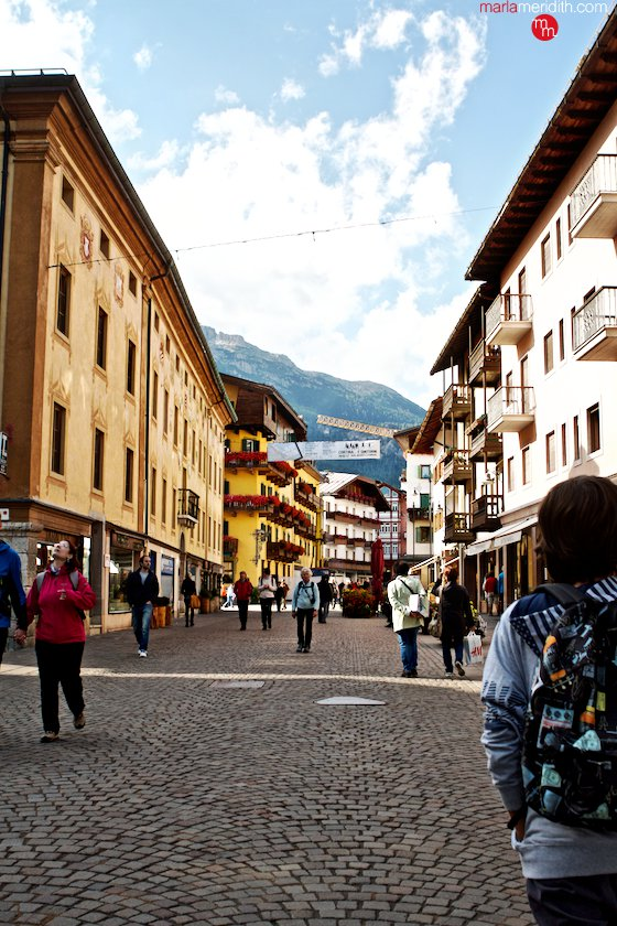 Cortina D'Ampezzo, an amazing village in the Italian Dolomites! MarlaMeridith.com ( @marlameridith ) #italy #travel