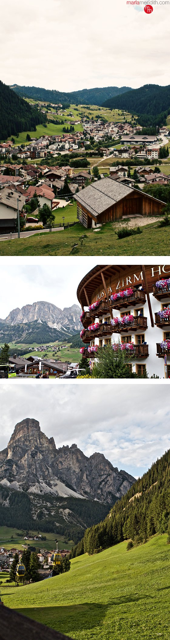 My favorite village in the #Dolomites Corvara! MarlaMeridith.com ( @marlameridith ) #italy #travel