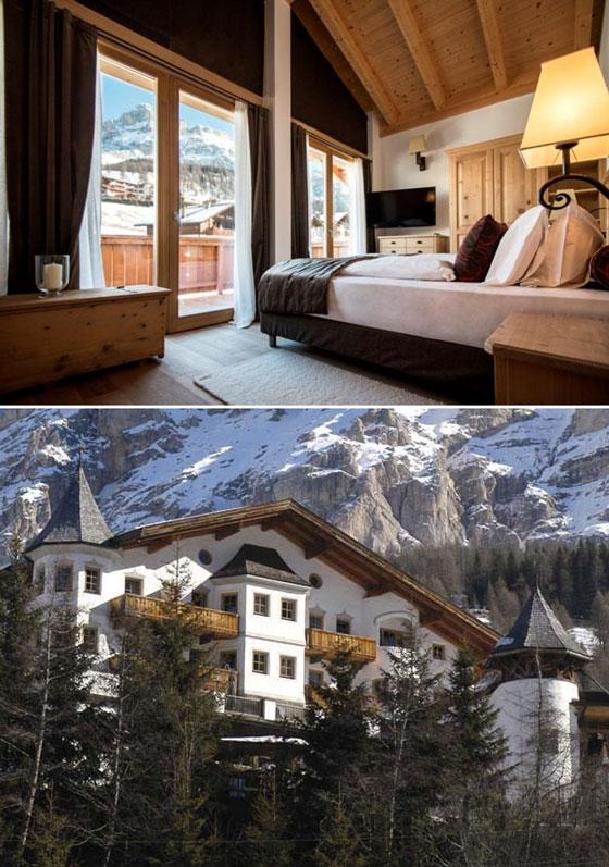 Hotel Rosaalpina, Dolomites, Italy   Bucket List: featured on MarlaMeridith.com #travel #alps #ski #luxury