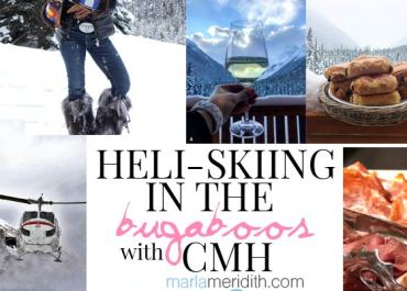 Heli-Skiing in the Bugaboos with CMH #cmhheli | MarlaMeridith.com #ski #travel