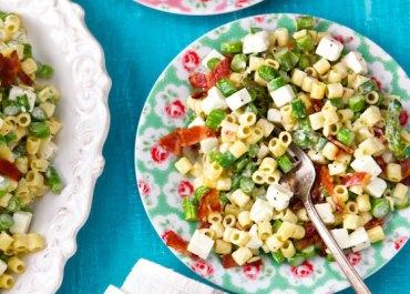 Recipe Video: Pasta Salad with Asparagus, Bacon & Feta