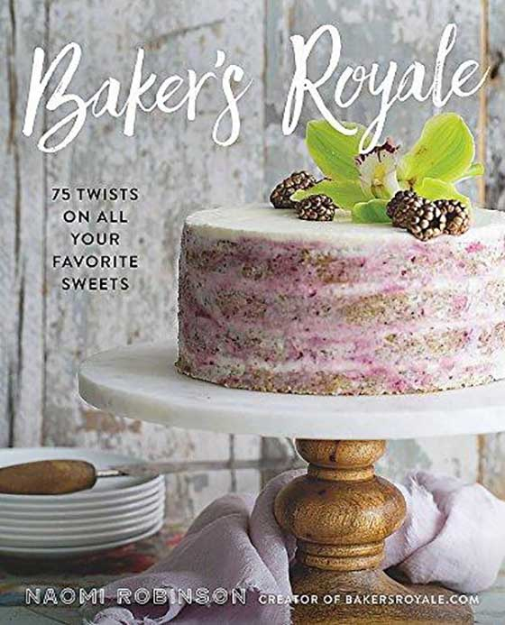 Cookbook Holiday Gift Guide! Baker's Royale by Naomi Robinson featured on MarlaMeridith.com