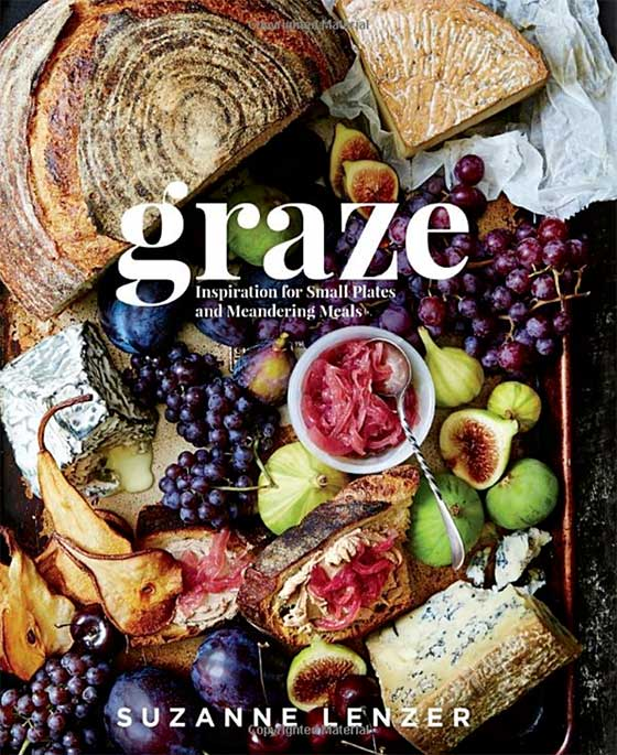 Cookbook Holiday Gift Guide! Graze by Suzanne Lenzer featured on MarlaMeridith.com