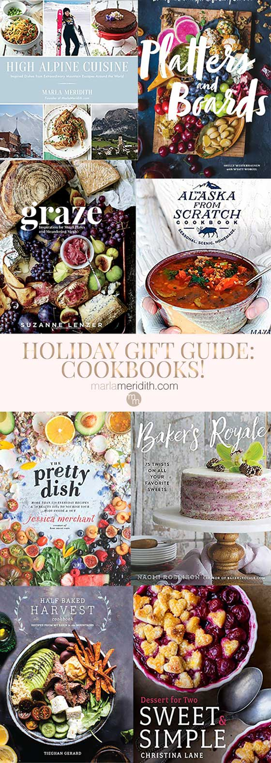 Favorite cookbooks to buy for holiday gifts! Featured on MarlaMeridith.com