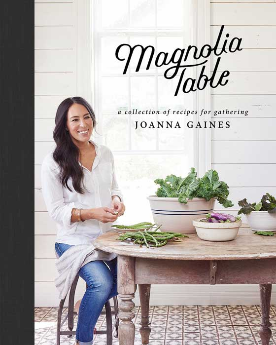 Cookbook Holiday Gift Guide! Magnolia Table by Joanna Gaines featured on MarlaMeridith.com