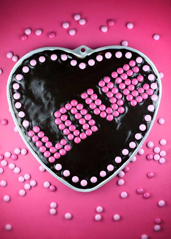 Big LOVE Butterscotch Cookie via Bakerella