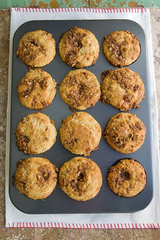 We love these Maple Pecan Morning Muffins recipe that are quick and easy to bake up. They are a just right breakfast that you will crave as an afternoon snack too! MarlaMeridith.com
