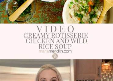 Video: Rotisserie Chicken and Wild Rice Soup