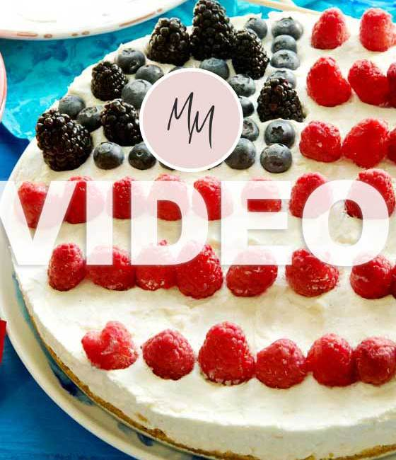 Looking for the ultimate dessert for those summer parties? Watch this video to see just how easy it is to make this No-Bake Cheesecake! MarlaMeridith.com