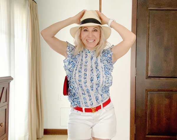 Shop the Post: How to style a top by Veronica Beard 5 Ways. Summer looks that will turn heads everywhere you go! I can't begin to tell you how many compliments I get on this Sol Top. MarlaMeridith.com