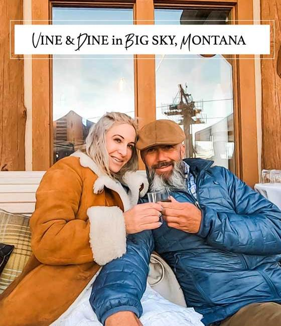 Experience Vine & Dine, a food and vine event in Big Sky, Montana! MarlaMeridith.com