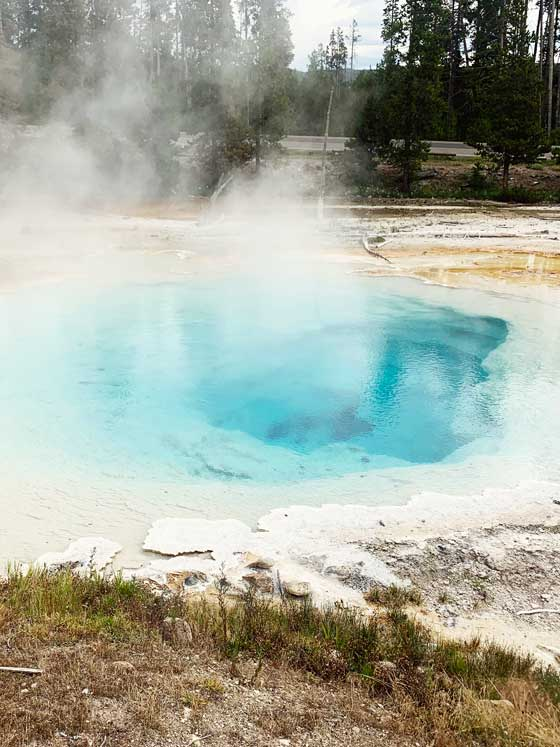 Paint Pots at Yellowstone National Park | MarlaMeridith.com