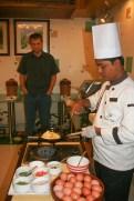 Platinum Suites Chef at Work!