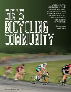 Grand Rapids Magazine - Bicycling Feature