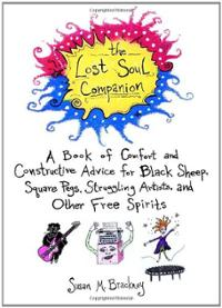 lost-soul-companion-book-comfort-constructive-advice-for-susan-m-brackney-paperback-cover-art