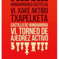 6º Torneo Activo de Ajedrez Castillo de Hondarribia ¡Completada ya la lista de 50 participantes!