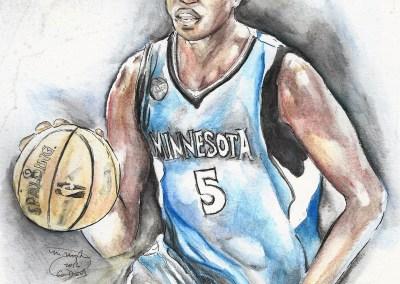 Gorgui Dieng watercolor