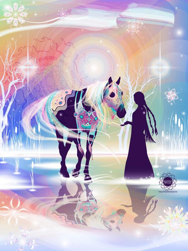 Northern Lights' Horse