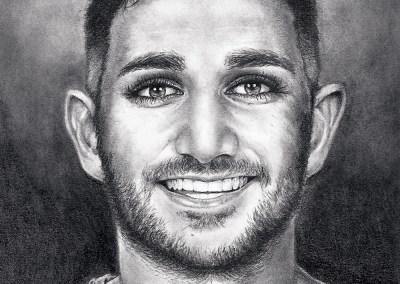 Ricky Rubio drawing