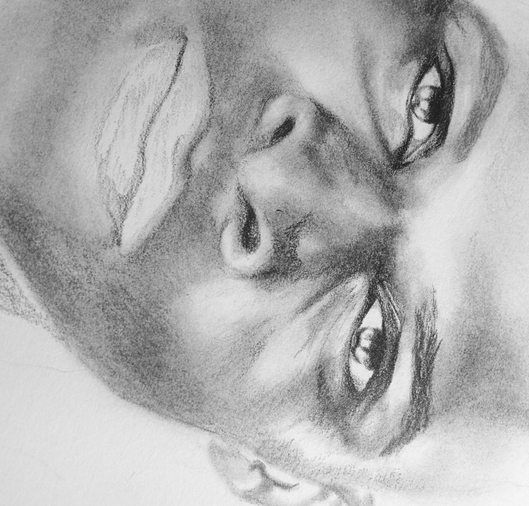 Work in Progress drawing of Russell Westbrook