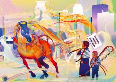 Dakota 38 + 2 Prayer Horse