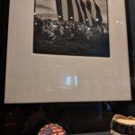 Belt Bucket by Leo Arrowite and Pow Wow print by Greta Pratt