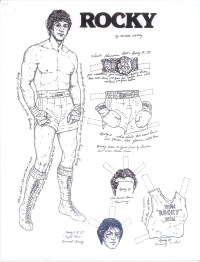 Rocky Balboa Coloring Pages