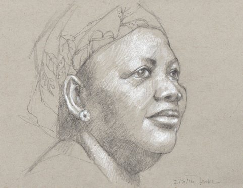 Pencil Portrait 5x8 021116